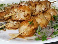 Сочный и безумно вкусный шашлык из курицы, приготовленный в духовке http://optim1stka.ru/2017/10/01/sochnyj-i-bezumno-vkusnyj-shashlyk-iz-kuritsy-prigotovlennyj-v-duhovke/