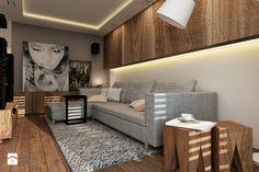 Nowoczesny Zielony Żoliborz - Mały salon, styl nowoczesny - zdjęcie od design me too