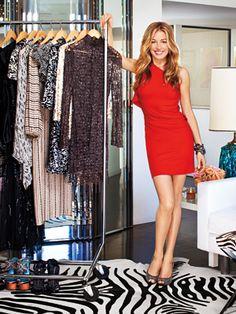 Cat Deeley Opens Her Closet