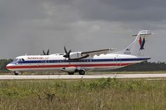 American Eagle Airlines N451AT Aerospatiale ATR-72-212 451 NAS Nassau Airport 2012