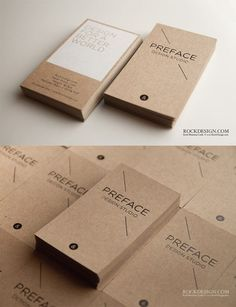 25 Creative Business Card Design Inspiration #stationery #design #typography