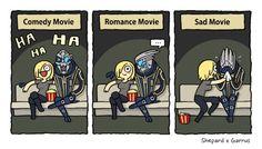 Shepard x Garrus