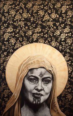 rose of the cross sofia minson 2017 parnell gallery Zealand Tattoo, Polynesian Art, Maori Designs, New Zealand Art, Nz Art, Maori Art, Architecture Tattoo, Indigenous Art, Sculpture Art