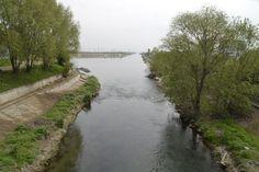 Locul unde Dâmbovița iese din București
