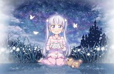 Abre la web oficial del Anime New Game! con su primera imagen promocional.