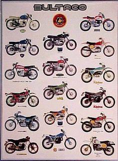 1975- Bultaco Lineup ad