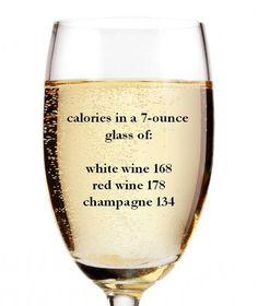 fizzmas fun fact! calories in champagne  