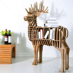 Deer Puzzle Table - Milan Direct