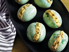 Deviled Green Goblin Eggs