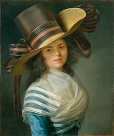 Portrait of a Lady by Jean-Laurent Mosnier, ca 1790