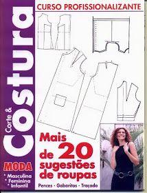 "Moldes Moda por Medida: LIVRO - 8 ""CORTE  COSTURA"""