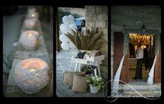 #wedding #decor #table arrangements #centerpiece #outdoor decorations #door flower arrangement #candles