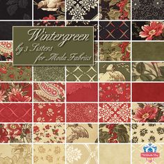 Wintergreen by 3 Sisters for Moda Fabrics, now available at Fat Quarter Shop