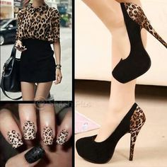 #Leopard print yep-this is me-if only I could wear heels.