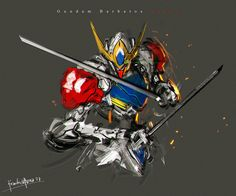 Speedpaint Barbatos Lupus fanart by benedickbana on DeviantArt