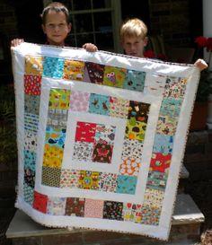 Charm pack quilt idea