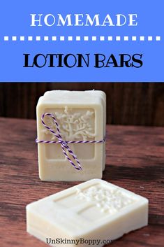 These homemade lotion bars are super simple and easy to do. Made with essential oils, you'll love having these on hand for the cold months! Skin Care Cream, Lotion Bars, Homemade Beauty Products, Young Living Essential Oils, Essential Oil Diffuser, Creative Crafts, Make And Sell, Diy Beauty, Make It Yourself