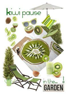 """Kiwi pause!!!"" by anizet-designs ❤ liked on Polyvore featuring interior, interiors, interior design, home, home decor, interior decorating, Dot & Bo, Surya, Illesteva and UGG Australia"