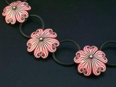 Plum Blossom close up | by K. Hernandez - Polymer Clay Art