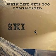 Ski et snowboard pas cher Go Skiing, Alpine Skiing, Skiing Colorado, Snowboards, Skiing Quotes, Snowboarding Quotes, Ski Et Snowboard, Nordic Skiing, Skier