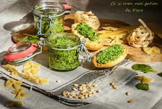 Ce si cum mai gatim: Pesto cu spanac Fresh Rolls, Pesto, Cooking Recipes, Ethnic Recipes, Food, Chef Recipes, Essen, Meals, Eten