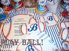 Baseball Party Printable