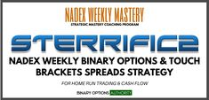 $1,997.00 Continue reading STERRIFIC2  NADEX Weekly Binary Options & Touch Brackets Spreads Strategy at Binary Options Authority.