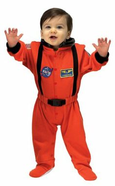 Amazon.com: Jr. Astronaut Suit, size 6 to 12 Months (orange): Aeromax: Clothing