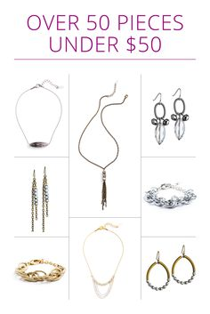 Shop 50 Pieces of Jewelry Under $50 | Extra 30% off Summer Clearance! | July 24-25, 2015   graylingjewelry.com