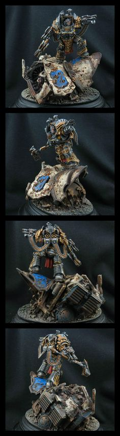 Warhammer 40k | Space Marines | PERTURABO - PRIMARCH OF THE IRON WARRIORS