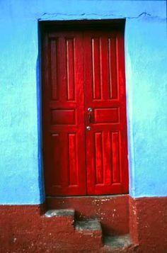 Guatemala   ..rh #red #door #myobsessionwithreddoors