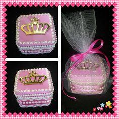 Porta joia de latinha Princesa