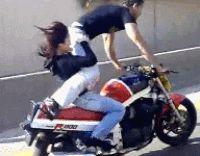 tricks motorcycles GIF by Cheezburger