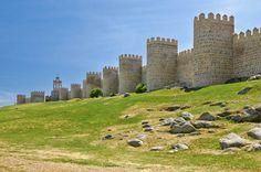 Muralla de Ávila Castilla y León en España