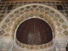 Demi-coupole du mihrab, Grande Mosquée de Kairouan