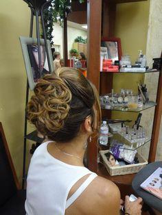 Wedding Up-Do  The Galleria Salon & Day Spa Laconia NH