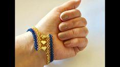 San Petersburg, Beaded Earrings, Beaded Jewelry, Beaded Bracelets Tutorial, Heart Bracelet, Beads, Patterns, Molde, Swarovski Bracelet