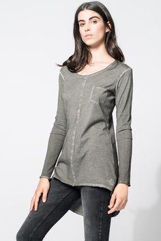 Tigha @ Fabriq.nl Blouse, Long Sleeve, Sleeves, Tops, Women, Fashion, Moda, Women's, La Mode