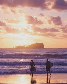 Mudjimba Beach at sunrise, Sunshine Coast, Qld Australia