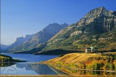 Photograph of the Prince of Wales Hotel in Waterton Lakes National Park in the Canadian Rockies by Alberta professional photographer John E. Waterton Park, Waterton Lakes National Park, Canadian Wildlife, Canada National Parks, Glacier Park, Canadian Rockies, State Parks, Nature Photography, Scenery