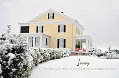 P. Allen Smith's country home garden. Jan 2013 calendar wallpaper. Hard to find online!