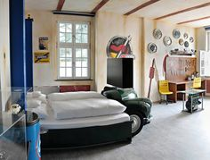 Love The Idea Of Hubcaps As Wall Decor For Boys Room.