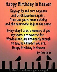 The 60 Happy Birthday in Heaven Quotes Happy Anniversary To My Husband, Happy Anniversary Quotes, Birthday Wish For Husband, Birthday Wishes For Daughter, Brother Birthday Quotes, Happy Birthday Brother, Brother Quotes, Dad Quotes, Qoutes