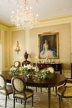 Antique Dining Room Furniture ~ Carter & Company Interior Design