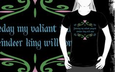 Valiant Pungent Reindeer King by NevermoreShirts