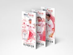Boston Red Sox Premium Season Tickets on Behance Sports Advertising, Sports Graphic Design, Ticket Design, Season Ticket, Sports Graphics, Boston Red Sox, Invitations, Seasons, Behance