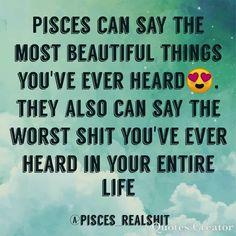 Aww it's so true Aquarius Pisces Cusp, Astrology Pisces, Pisces Quotes, Zodiac Signs Pisces, Pisces Woman, Pisces Facts, Zodiac Love, Astrology Signs, Zodiac Facts