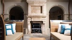 Architectural Stone | Fireplace Mantel Pictures - Materials Marketing
