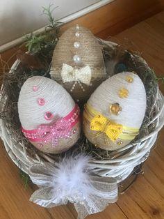 Egg Crafts, Bunny Crafts, Easter Crafts, Easter Crochet, Egg Decorating, Christmas Crafts For Kids, Spring Crafts, Easter Baskets, Handmade Crafts