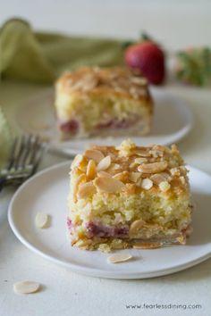 Easy gluten free fresh strawberry lemon bakewell tart.Really  Mein Blog: Alles rund um Genuss & Geschmack  Kochen Backen Braten Vorspeisen Mains & Desserts!